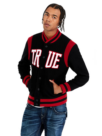 VARSITY CANVAS MENS JACKET