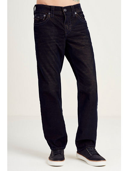 STRAIGHT CORDUROY TWO TONE MENS PANT