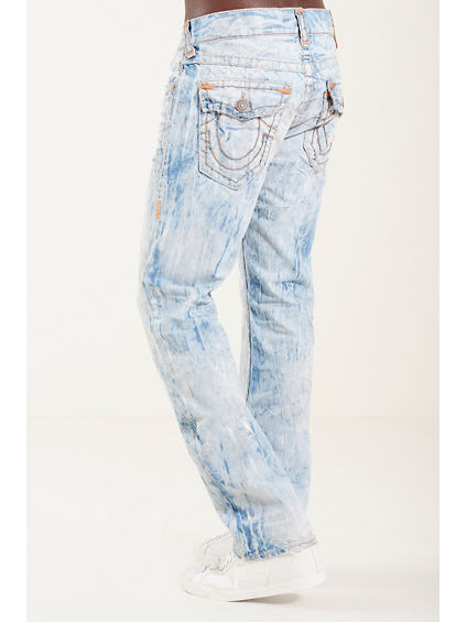 RICKY STRAIGHT FLAP SUPER T MENS JEAN