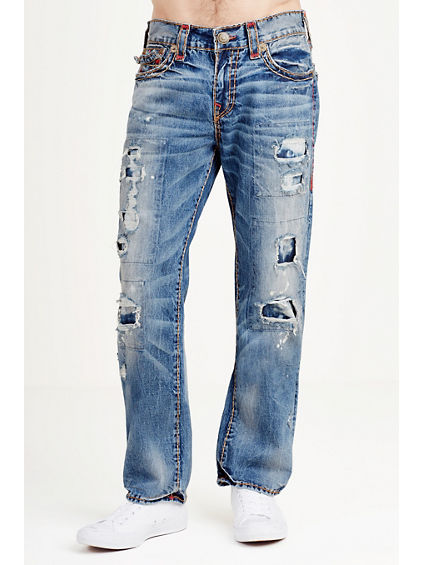 RICKY STRAIGHT DESTRUCT SUPER T MENS JEAN