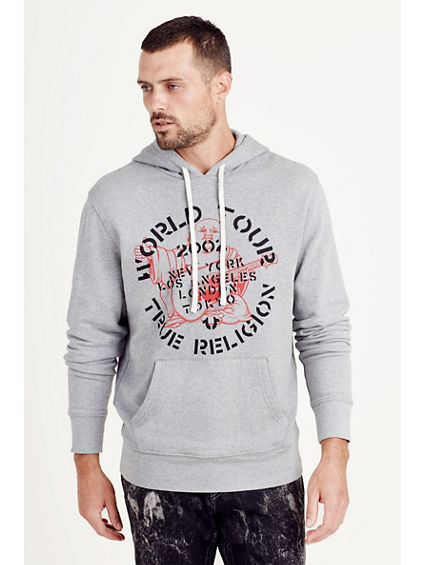 ROCK TOUR PULLOVER MENS HOODIE