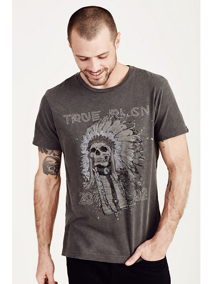 4TH AVE SKULL MENS TEE