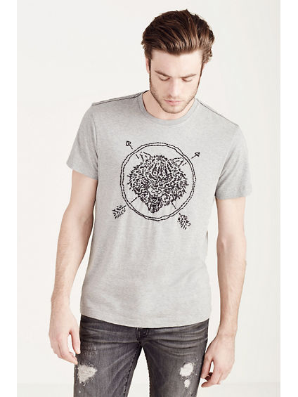 HAND PICKED WOLF MENS TEE