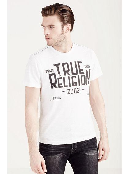 HAND PICKED TRUE RELIGION MFG CO MENS TEE