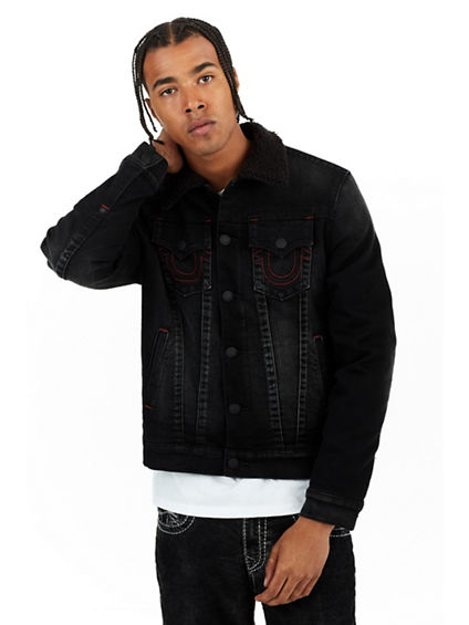 SHERPA TRUCKER MENS JACKET