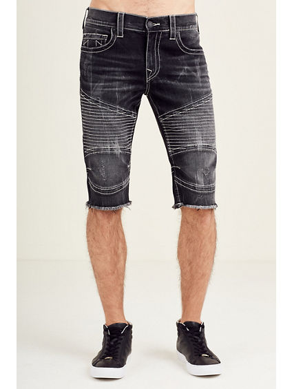 MOTO CUT OFF MENS SHORT