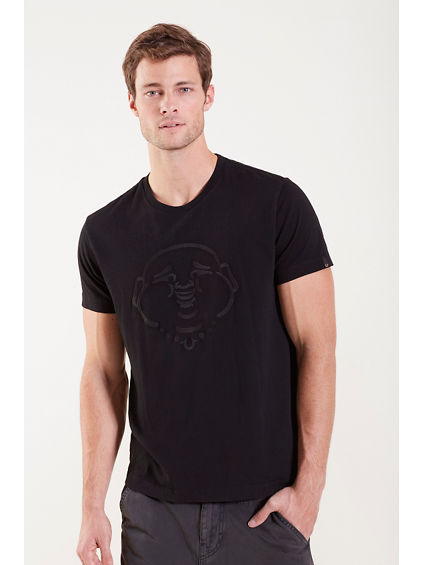 EMBROIDERY BUDDHA MENS TEE