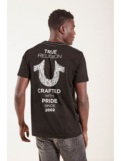 SHOESTRING HORSESHOE MENS TEE