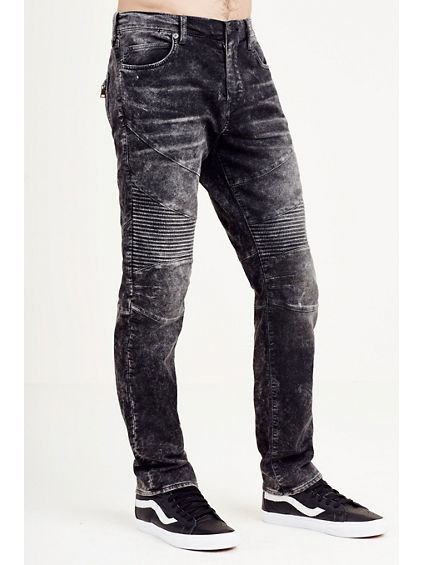 HAND PICKED SLIM MOTO MENS PANT