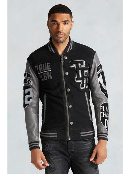 Letterman jacket for men
