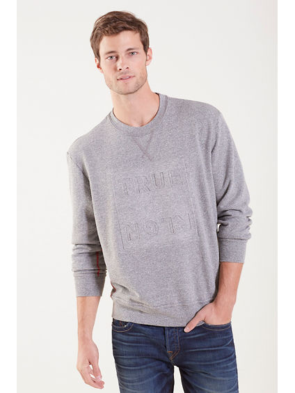 DOUBLE KNIT MENS SWEATSHIRT