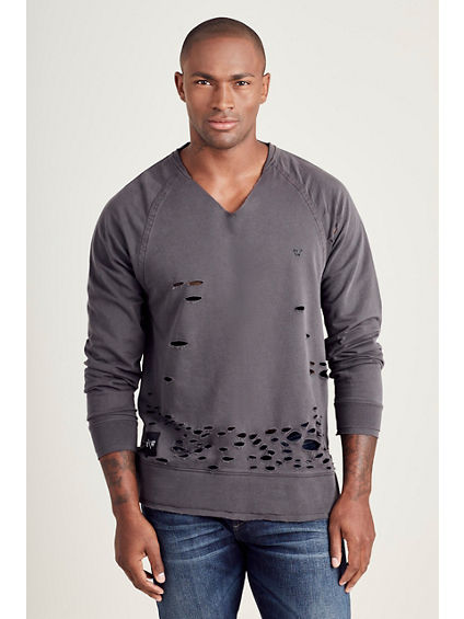 RUSSELL WESTBROOK DESTROYED MENS SWEATSHIRT