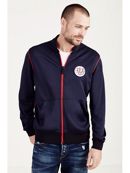 ZIP UP MENS TRACK JACKET