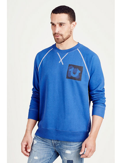PULLOVER CREW NECK MENS SWEATSHIRT