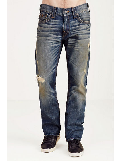 RICKY STRAIGHT TRIPLE NEEDLE MENS JEAN