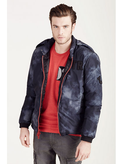 HAND PICKED MENS PUFFER JACKET