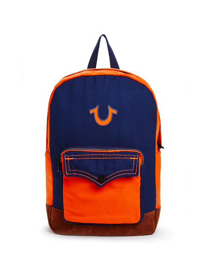 MENS COLORBLOCK BACKPACK