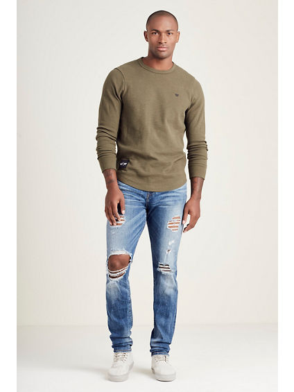 RUSSELL WESTBROOK ROCCO SKINNY MENS JEAN