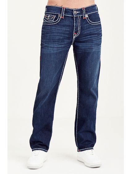 HAND PICKED STRAIGHT FLAP SUPER T MENS JEAN