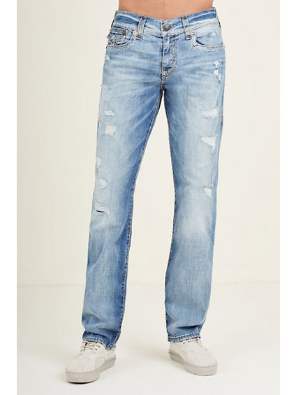 Designer Men's Straight Leg Jeans | True Religion