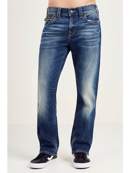 HAND PICKED STRAIGHT FLAP MENS JEAN