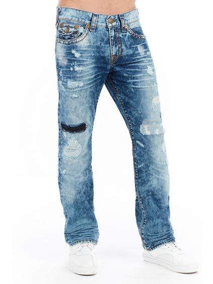 RICKY STRAIGHT W/ FLAP SUPER T MENS JEAN
