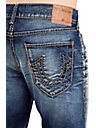 RICKY STRAIGHT CABLE STITCH MENS JEAN