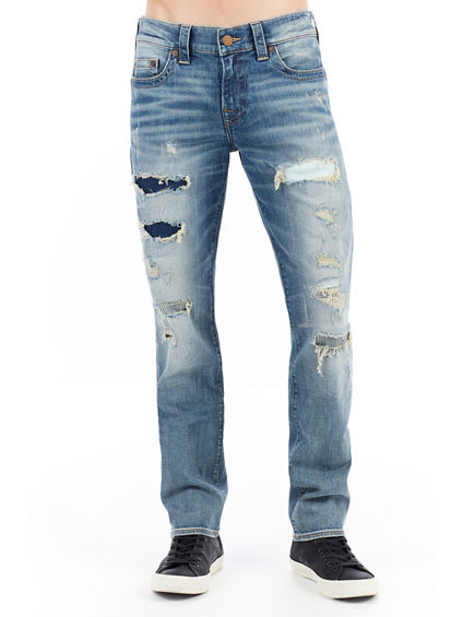 MENS DESTROYED DIY GENO SLIM JEAN