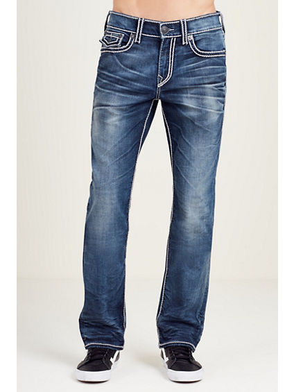 HAND PICKED STRAIGHT ROPESTITCH MENS JEAN