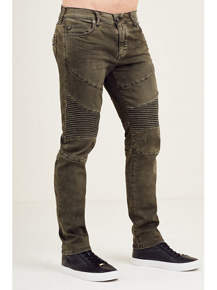 ROCCO SKINNY COATED MOTO MENS JEAN