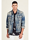 JIMMY MENS SELVEDGE DENIM JACKET