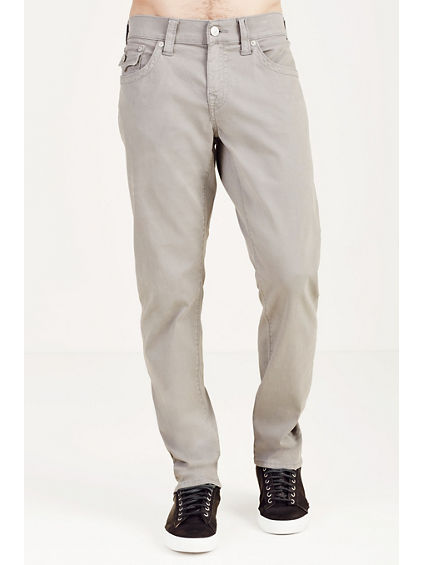 True Religion Mens Slim Twill Pants