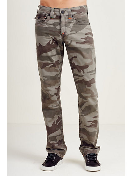 STRAIGHT FLAP CAMO MENS PANT