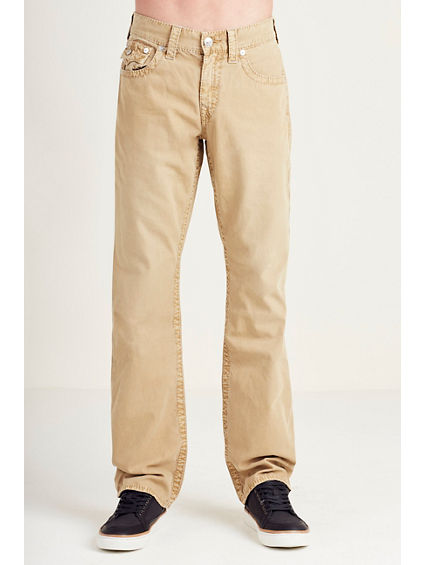 STRAIGHT FLAP BIG T COLORED MENS PANT