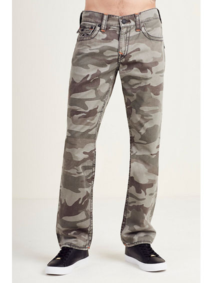 STRAIGHT FLAP CAMO BIG T MENS JEAN