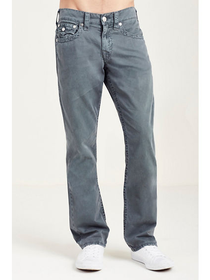 STRAIGHT FLAP BIG T GREY MENS PANT