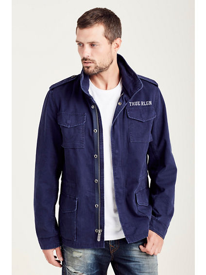 FIRST CHASE MENS MILITARY JACKET
