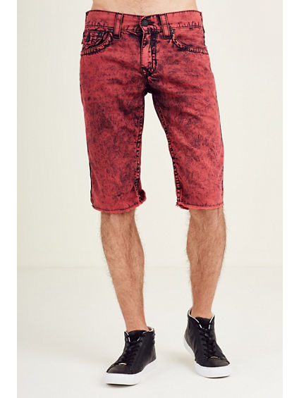 STRAIGHT FLAP BIG T MENS SHORT