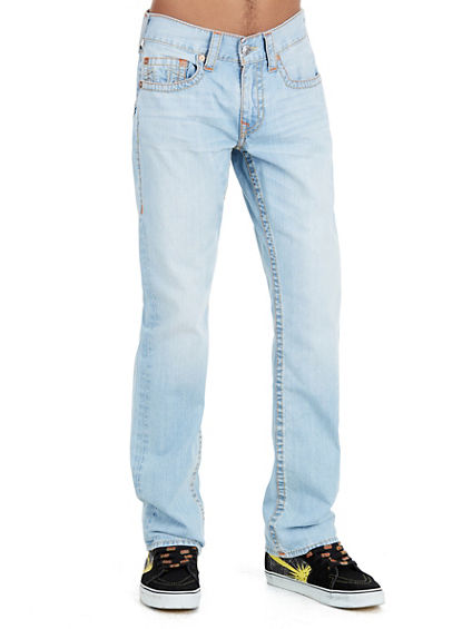 SLIM MIDNIGHT RUN STITCH MENS JEAN