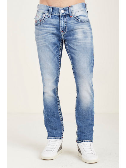 SKINNY FLAP RED BIG T STITCH MENS JEAN