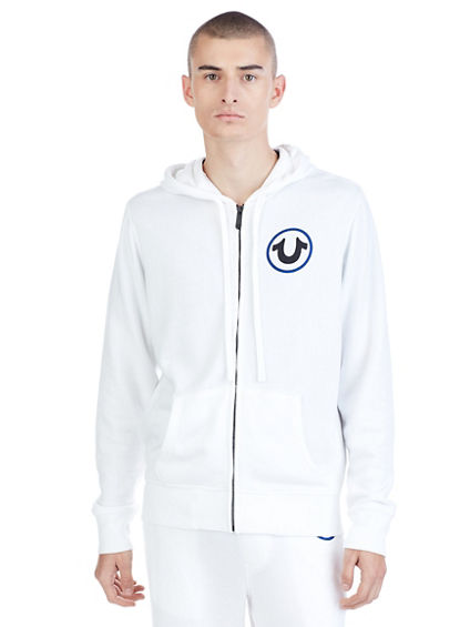 WORLD ACTIVE  ZIP UP MENS HOODIE