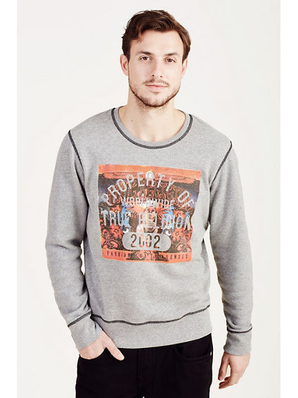 HAND PICKED PROPERTY OF TR PULLOVER MENS SWEATSHIRT
