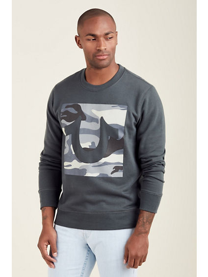TRENCH CAMO MENS PULLOVER