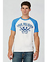 HAND PICKED TRUE SHOCKER RAGLAN MENS T-SHIRT