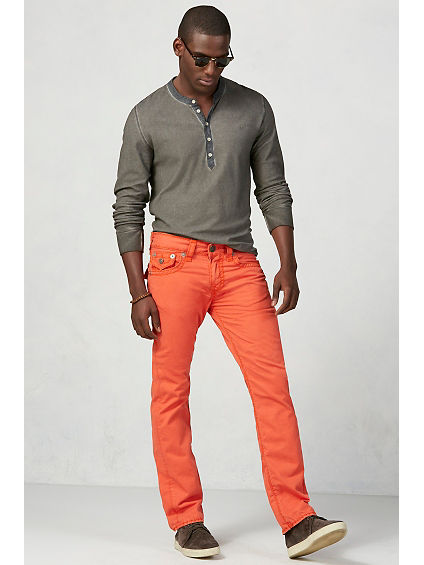 Ricky Straight Twill Mens Pant
