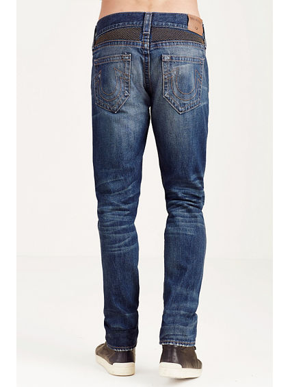 ROCCO SKINNY STUDDED MENS JEAN