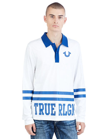 TEAM RLGN  RUGBY MENS POLO SHIRT