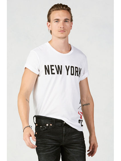 NYC GRAPHIC MENS T-SHIRT