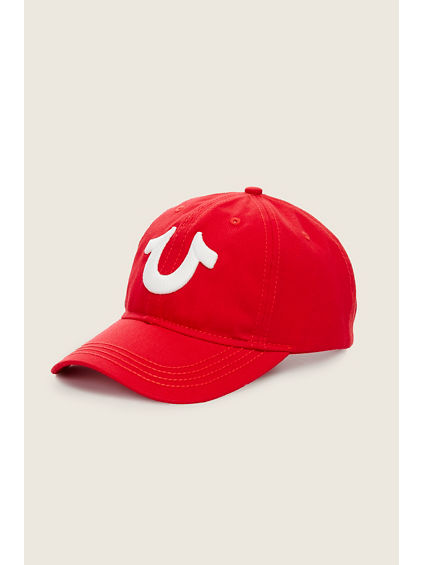 GLOW IN THE DARK LOGO BASEBALL CAP