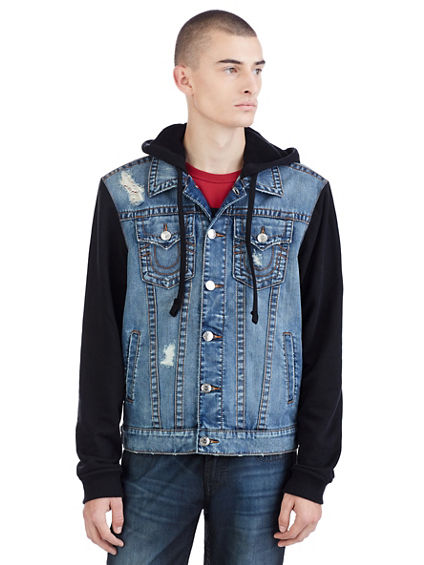 MENS TRUCKER FLEECE JACKET